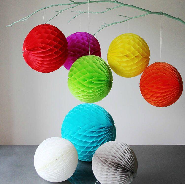 2018 30cm12 inch tissue paper flowers balls pom poms honeycomb see larger image mightylinksfo