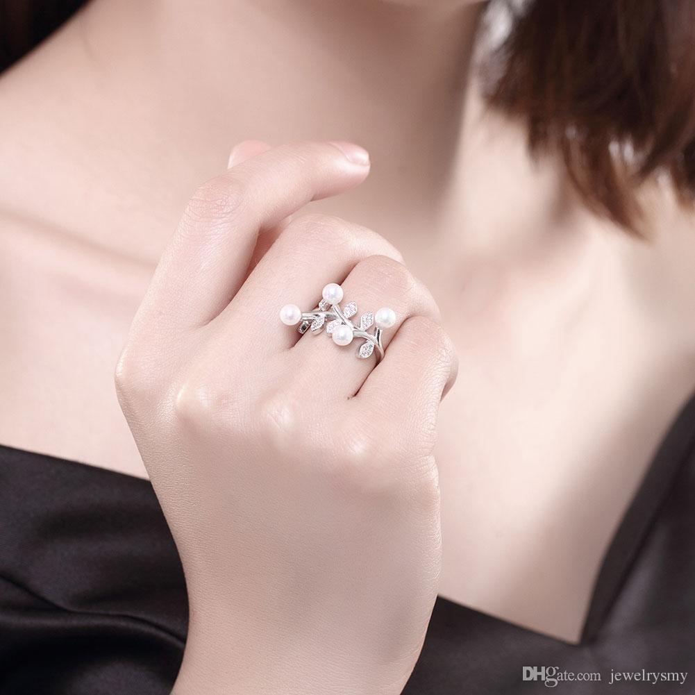 LEKANI 925 Pure Silver Simple Fashion Personality Design Temperament ...