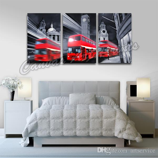 cheap home decor london 2017 hotselling framed wall decor canvas paintings 10533