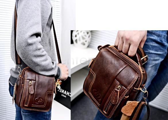 Online Cheap Small Men'S Travel Bags Men Messenger Bag Retro ...