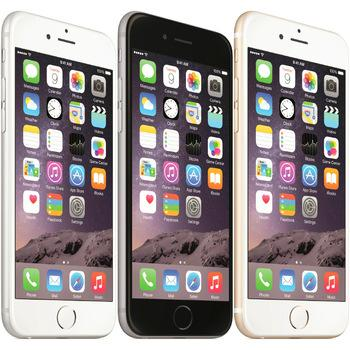 Original Apple iPhone 6 Unlocked Cell Phone 4,7 pouces 16 Go / 64 Go / 128 Go A8 IOS 8.0 4G FDD Support Fingerprint Refurbished Phone