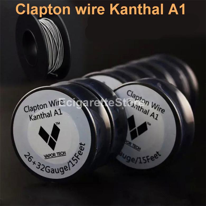Vaportech Clapton Wire Authentic Clapton Wire A115 Feet 26 32 ...