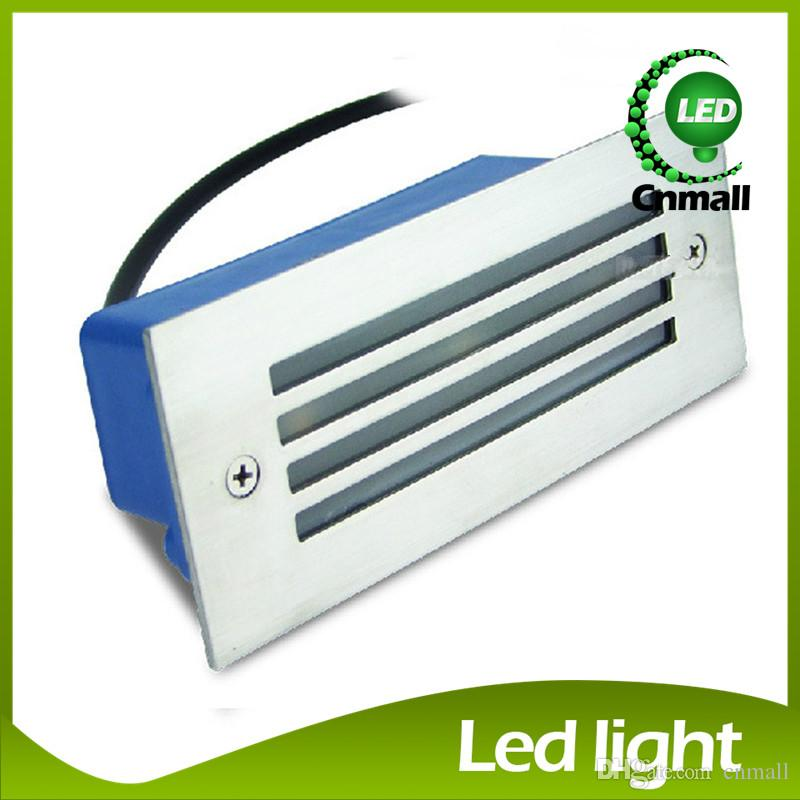 Online Cheap Led Recessed Wall Lights Led Stair Light 3w Led Wall Lamp  Night Light Led Step Light Recessed Floor Light Waterproof Outdoor Wall  Lamps By ...