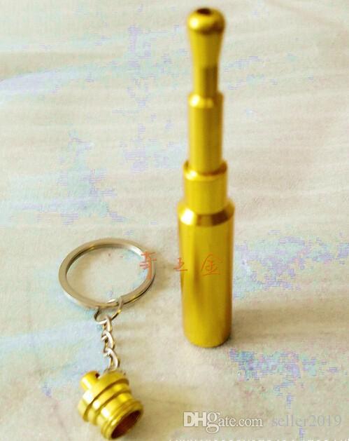 Freestyle portable bullet keychain pendant mouthpiece