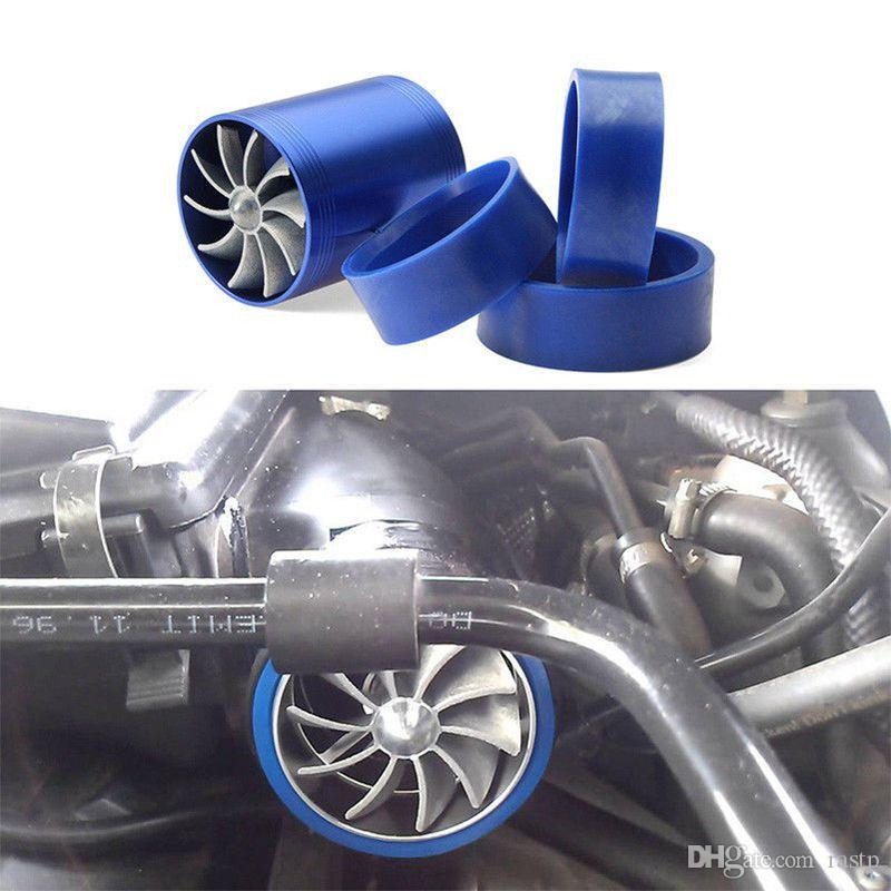 RASTP-Turbina de Modificação do carro Turbina Turbina Gás Turbo Supercharger Turbina Fit Fit para Diâmetro Da Mangueira De Admissão de Ar 65-74mm RS-TUR007