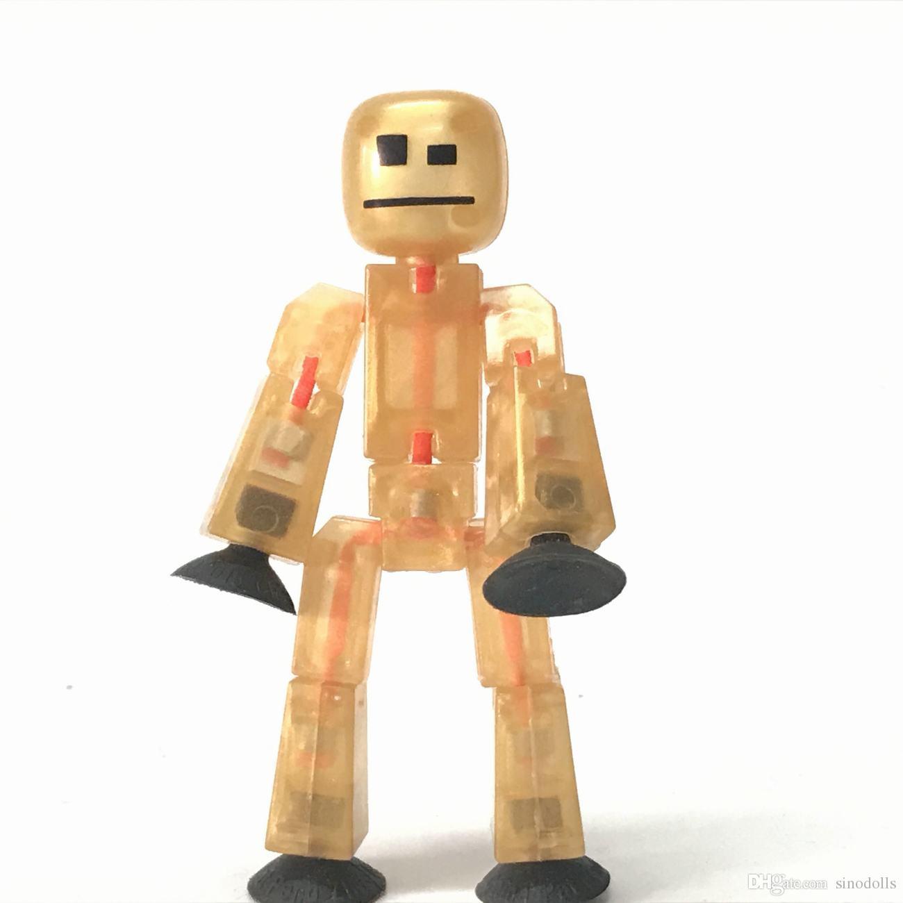 Großhandel Seltene 3,0 Zing Stikbot Goldene Roboter Animation ...