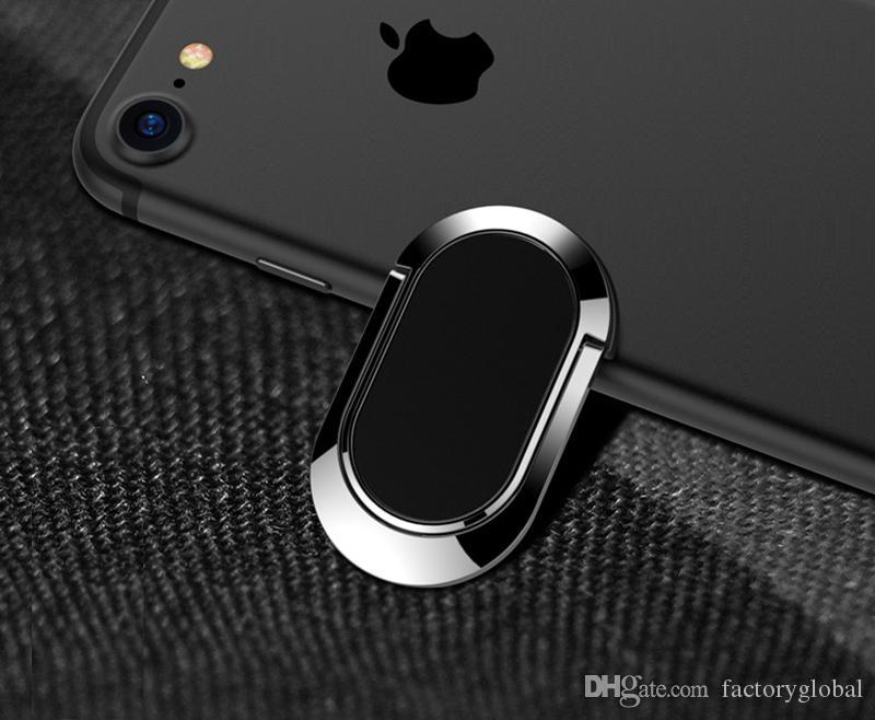 Kreative Fingerring Ständer Metall Handyhalter Mini 360 Grad Drehgriff Ständer Magnetisch für Handy Mit Kleinpaket