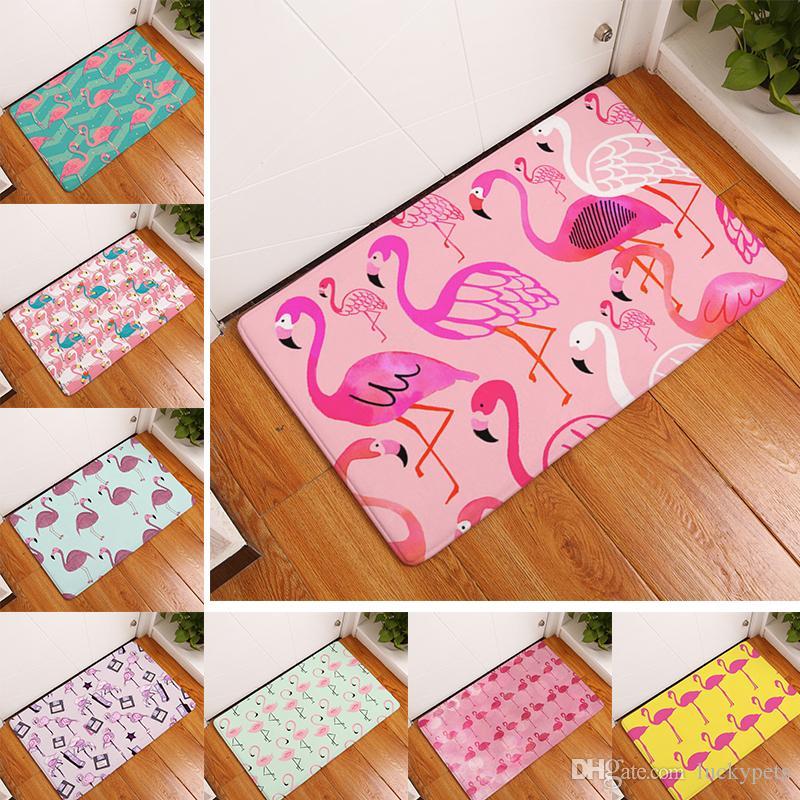 Home Carpets Flamingo Floor Rugs For Bedroom Bathroom Living Room ...