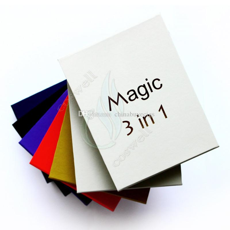 Top quality magic 3 em 1 kit cera seca e-líquido atomizadores ecigs kit MT3 AGO G5 globo de vidro 3em1 evod bateria vaporizador