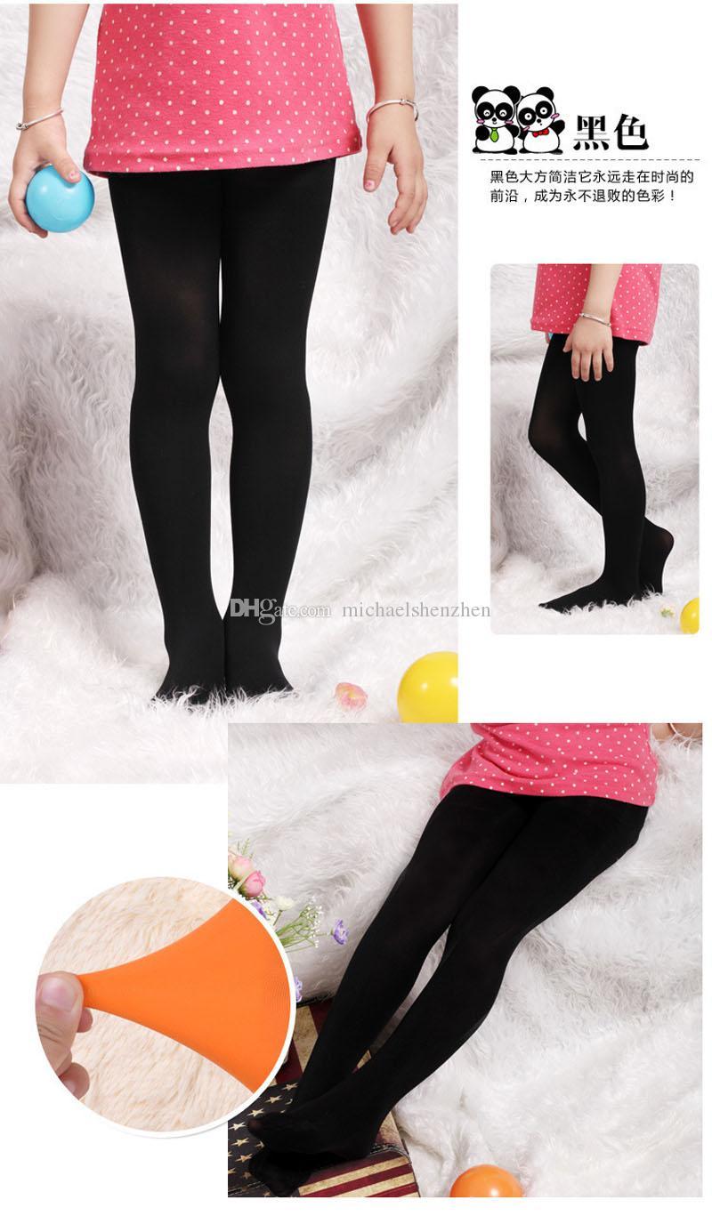 어린이 레깅스 타이츠 스키니 팬츠 아동복 패션 캔디 컬러 레깅스 롱 바지 키즈 캐주얼 바지 Girls Tights B001