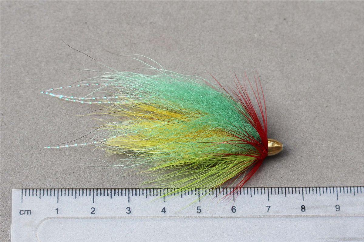 Tigofly Assorted Tube Fly Set For Salmon Trout Steelhead Fly Fishing Flies Lures Set