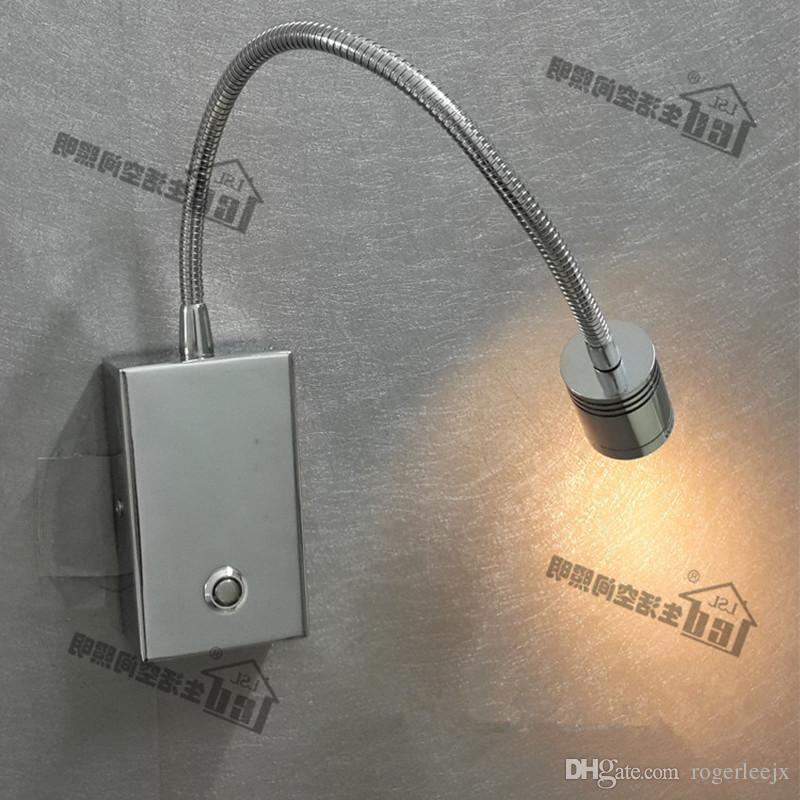 Topoch Затемняемый светодиодные фонари двойной режимы освещения сенсорный ВКЛ / ВЫКЛ / тусклый переключатель направленный прожектор фокусировки объектив 3 Вт LED для спальни Кемпер лодки