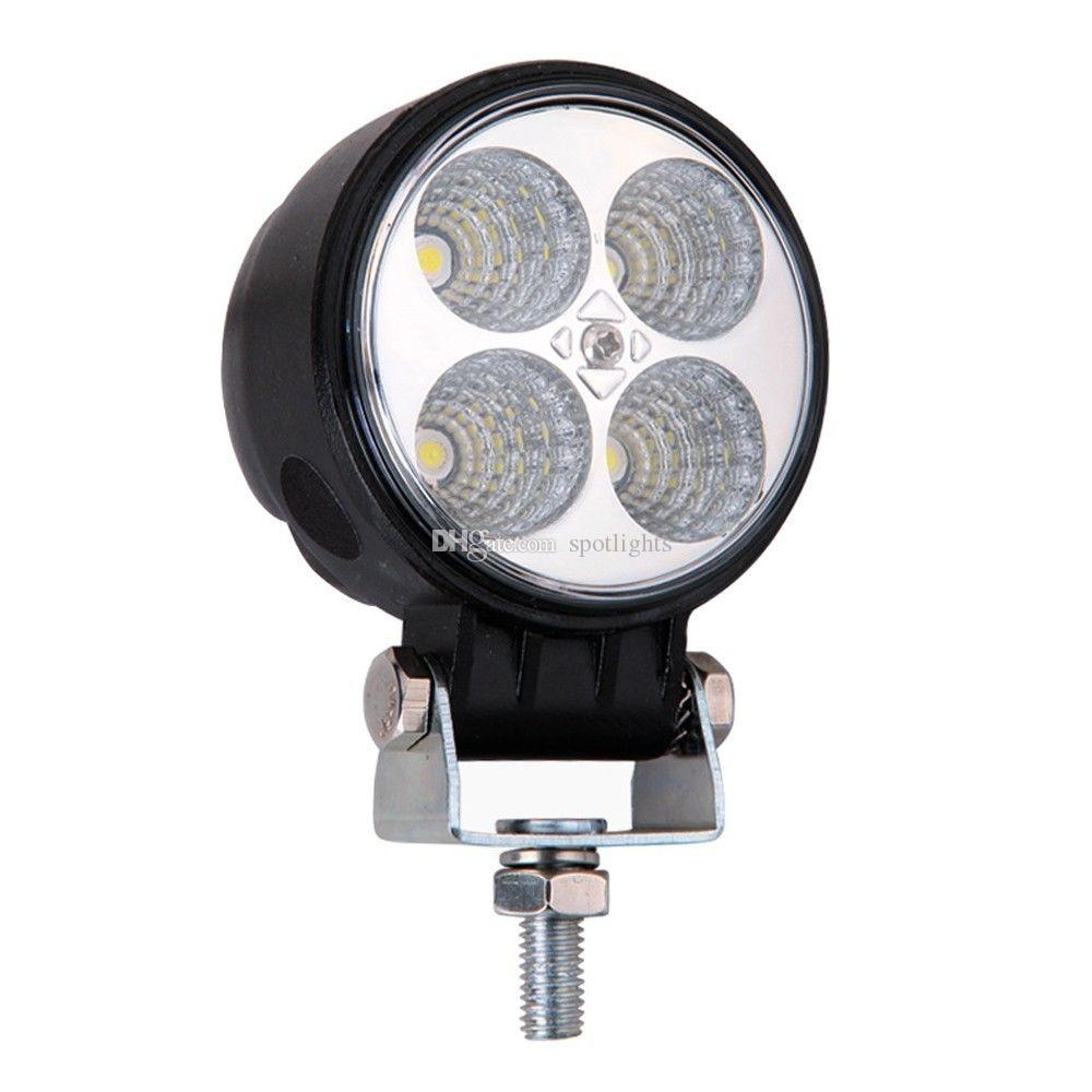Delightful 4 Inch LED Work Lamp 12w Waterproof LED Work Light Car Accessories IP67 LED  Headlight For Truck LED Spot Flood Light LED Work Light Led Rear Light LED  Truck ...
