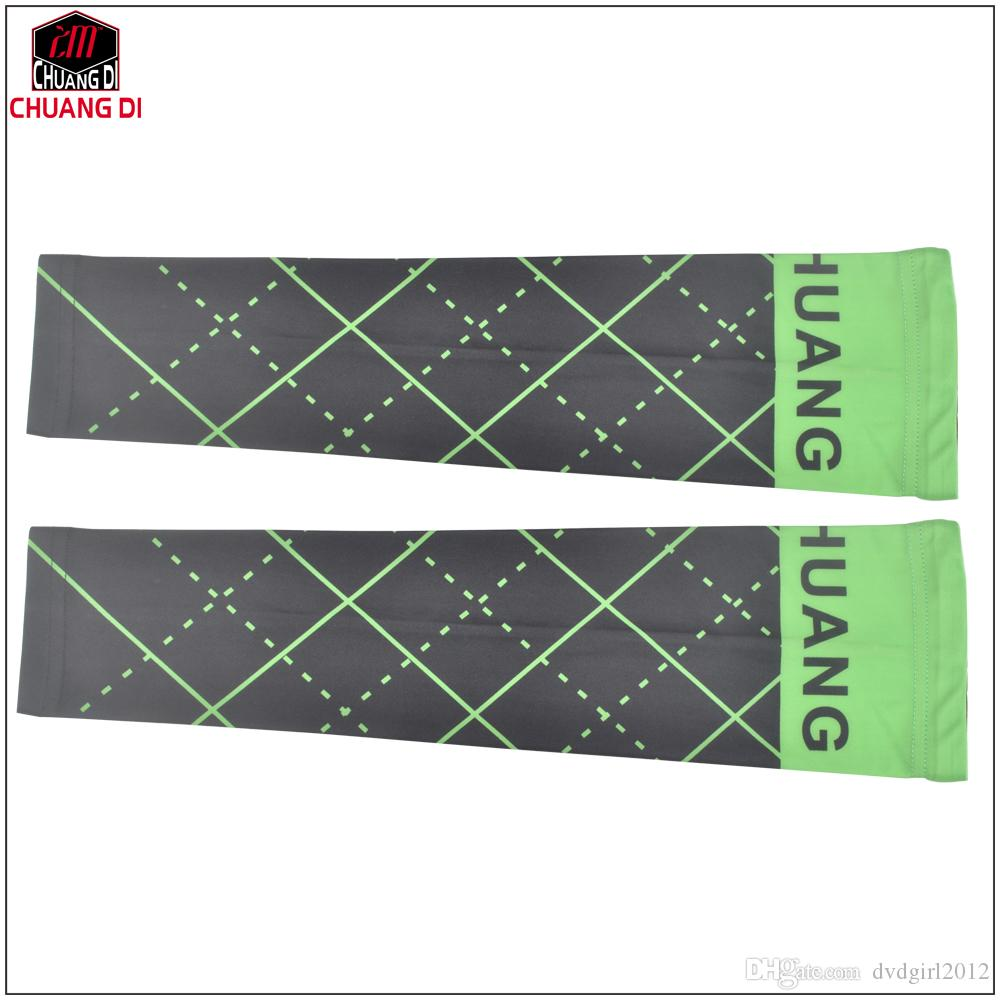CHUANG DI Cycling Sleeves Arm warmer MTB Bike Bicycle Sleeves Arm warmer UV Protection Bicycle warmers Arm Sleeves