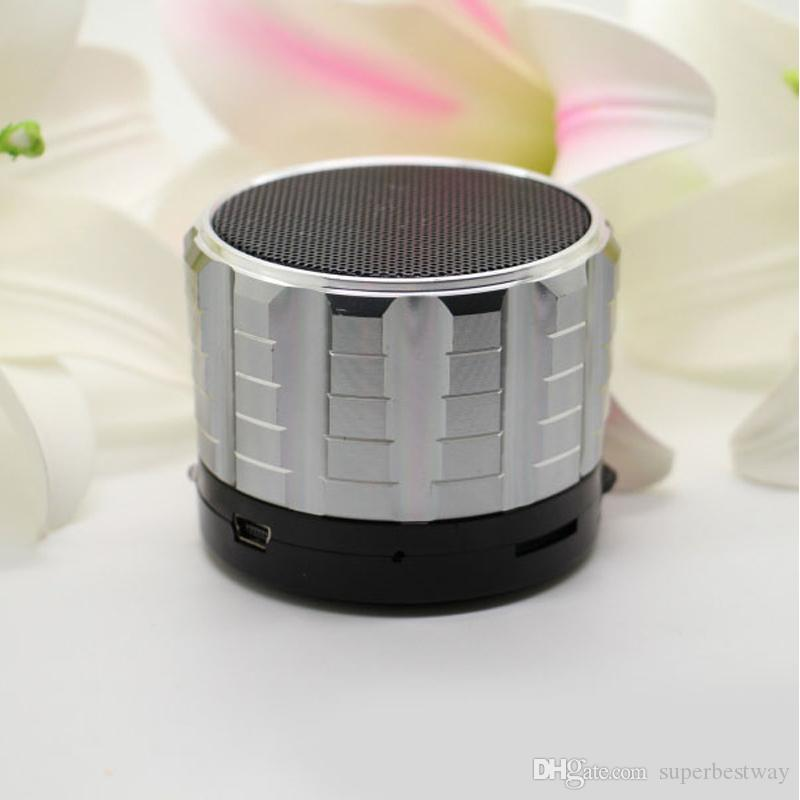 Mini S15 Speakers Bluetooth Wireless Built-in MIC TF Slot Subwoofer Music Players For PC Tablet DHL Free MIS074