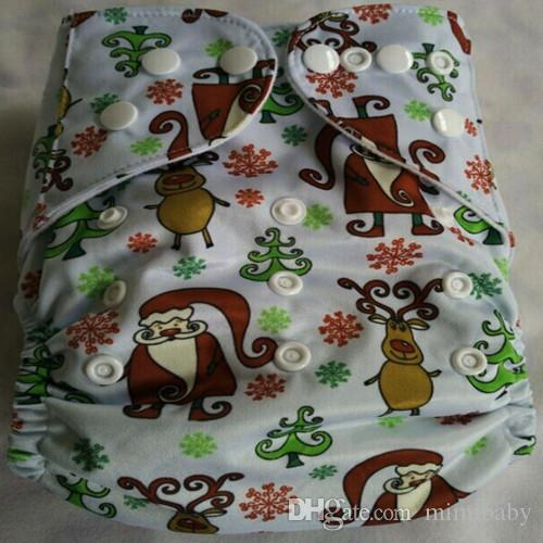 2015 New Design Printed Reuseable Washable Pocket Cloth Diaper Nappy With Insert TN