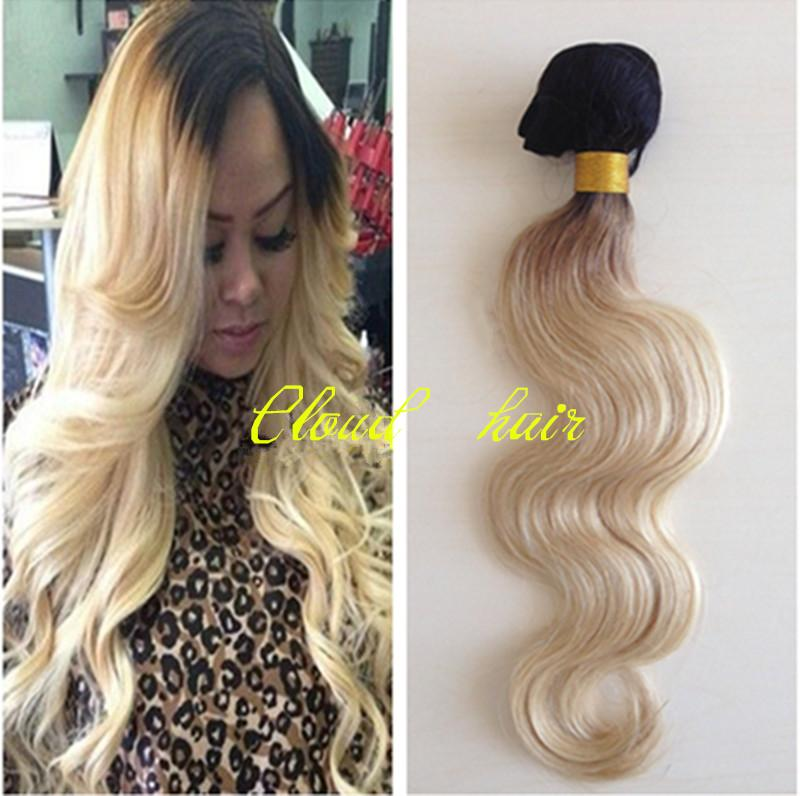 Fast shipping colored 1b613 blonde dark root ombre hair weave fast shipping colored 1b613 blonde dark root ombre hair weave weft 100 brazilian virgin human hair extension body wave two tone hair pmusecretfo Gallery