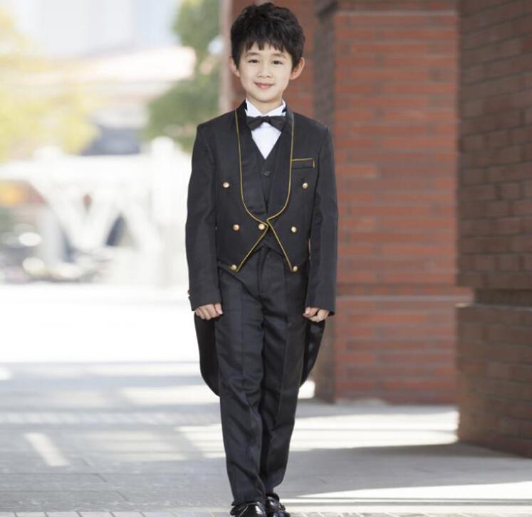 Hot Sale Children Dress Tuxedo Boy Suits Fashion , The Host ...