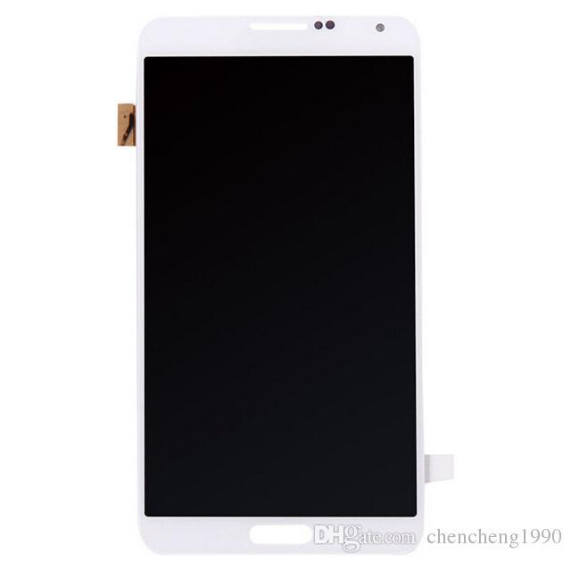 For Samsung GALAXY Note3 N900 Digitizer LCD Screen Display with Touch Sreen Digitizer N900 N900 N900T N900P N900A N9005 N900V Black White