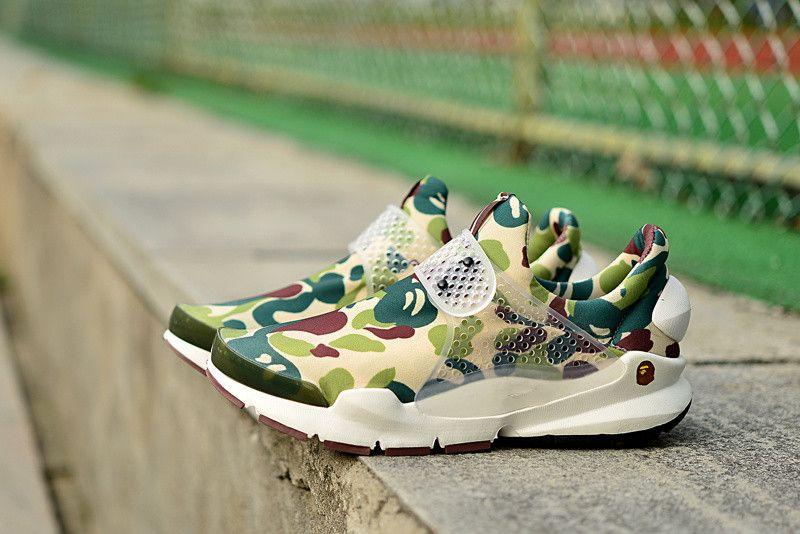 e3daa7c65b686 ... 2015 Fragment Design Sock Dart Sp Lode Camo Unisex Sneakers High  Quality Running Shoes Outdoor Sports ...