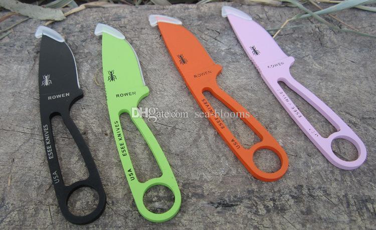 51455 Рэндалл приключения ESEE Izula шеи нож Rowen фиксированным лезвием нож падение доставка EDC нож выживания ножи Бесплатная доставка
