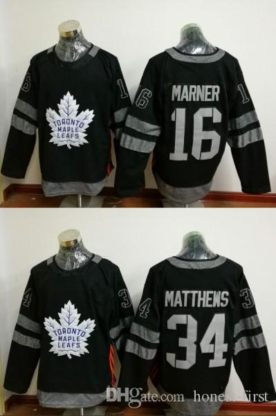 2019 With 2017 Dhgate Toronto 100 Auston First Stitched 100th Maple Anniversary 16 Mitchell 34 32 1917 Honest Patch Marner Black 20 Leafs com Jerseys From Matthews