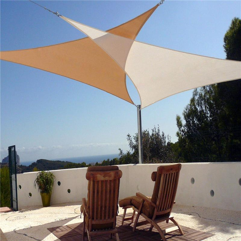 2019 Outdoor Waterproof Shade Sails UV Protection Size 3M ...