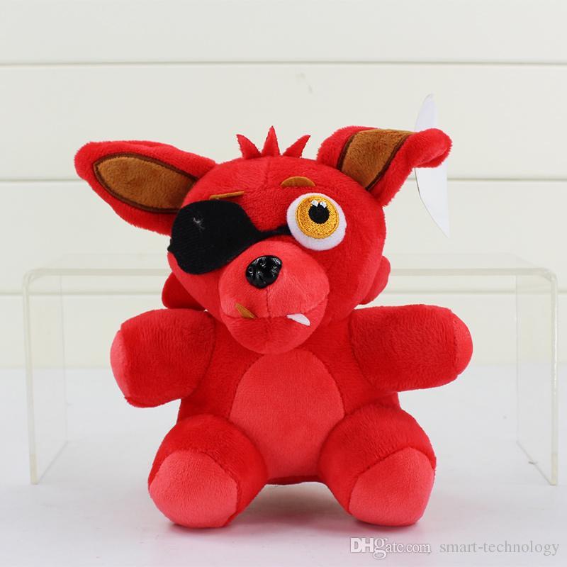 Nächte 20cm Fünf bei Freddy Fazbear Bär Bonnie Foxy Ente füllte Plüsch-Puppen Kid Spielzeug Cartoon Spiel