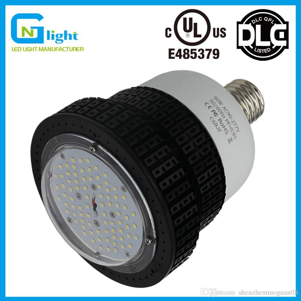 50 Watt Led Replacement Bulb For Low Bay Warehouse Garage Lighting 100 277volt 5700k Cool White Corn Lamps Retrofit Metal Halide Cfl Hid