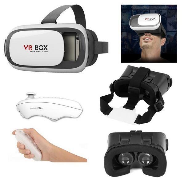 Compre Vr Box 2 Realidad 3d Gafas 3d Juegos Google Carboard Helmet