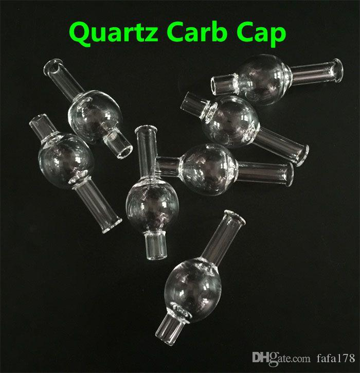 Universal bubble Quartz carb cap round ball dome for XL thick Quartz thermal banger Nails glass water pipes, dab oil rigs