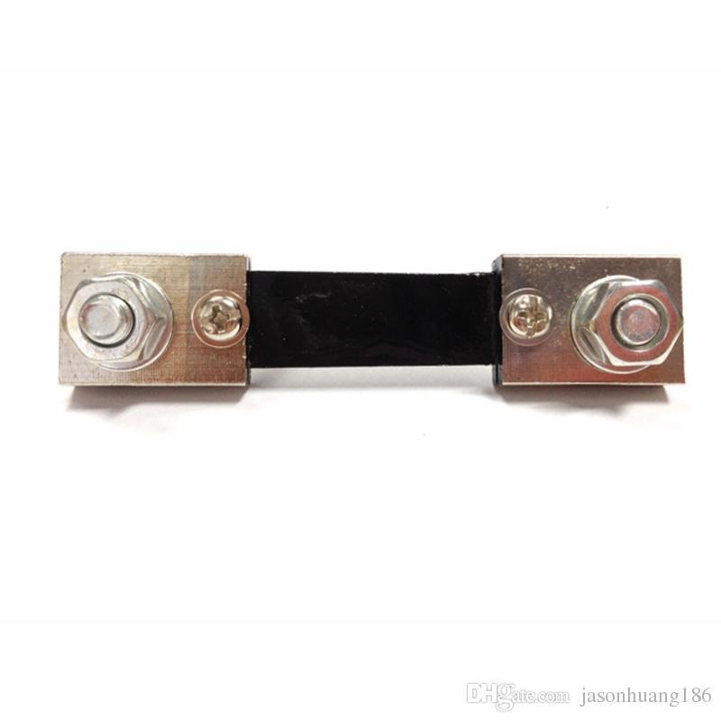 DC 100A/75mV Shunt Resistor For DC100A Ampere Meter Ammeter