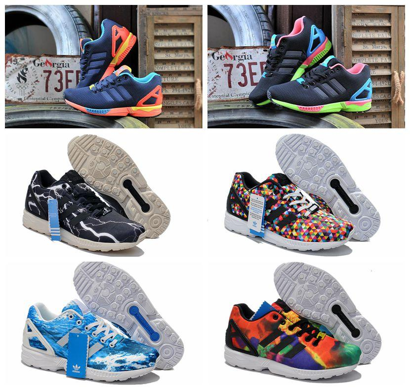 2018 Hot Sale 100% Originals Adidas Zx Flux Women & Men Running Shoes  Genuine Leather Adidas Zx 750 Shoes Size 36 44 From Linzhensong, $46.24 |  Dhgate.Com
