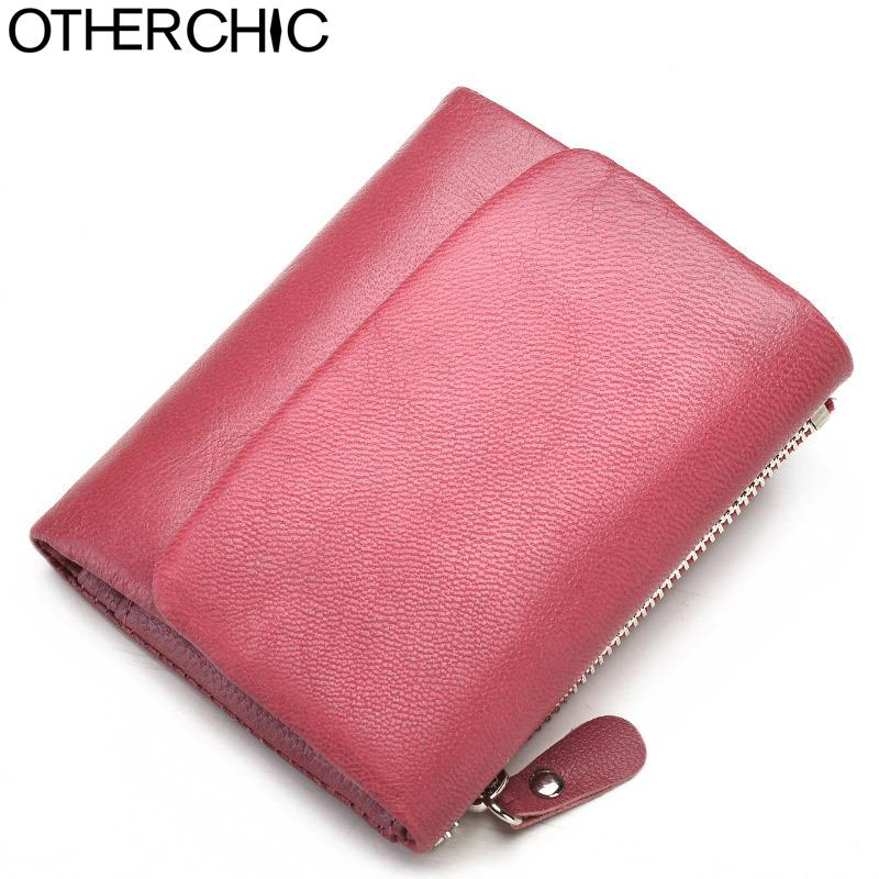 d85747822 2019 Otherchic Genuine Leather Women Short Wallets Sheep Skin Small Soft  Trifold Wallet Purse Wallet Female Purses Money Clip 6n12 39 From Whatless,  ...