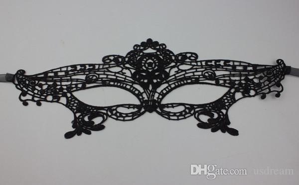 Moda Dantel maske parti maskeleri Cadılar Bayramı Nefis Masquerade Partisi Yarım Yüz Maskesi Kadın lady Noel Için Seksi Maske cosplay kostüm 110002