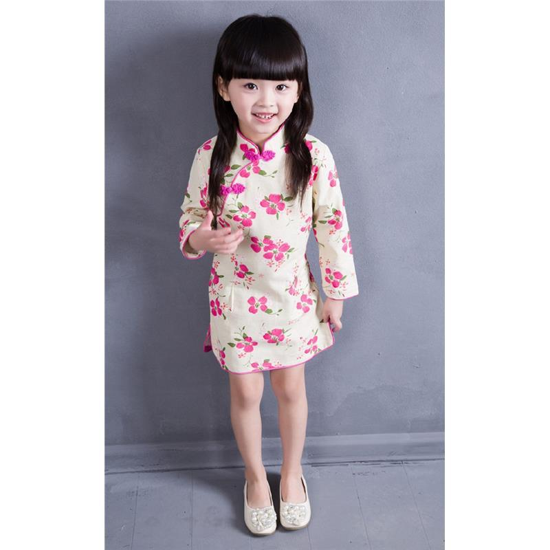 2018 2016 Baby Girls Chinese Traditional Dress Spring And Autuam ...