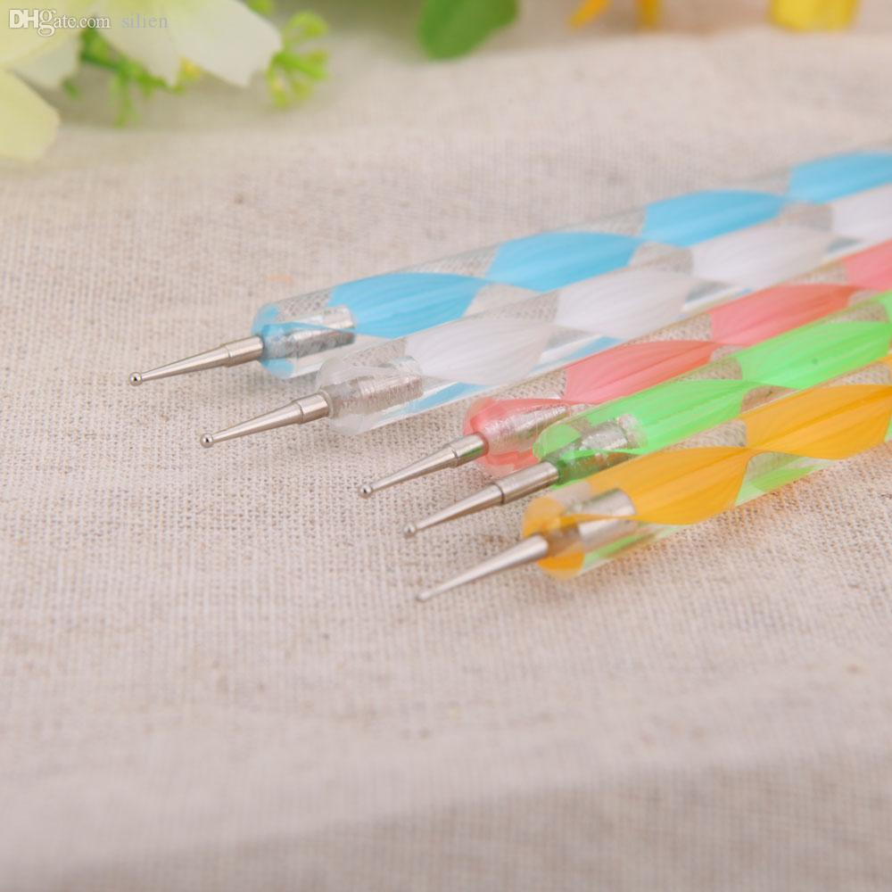 Wholesale Nail Art Pen Design Painting Dotting Detailing Pen Brushes ...