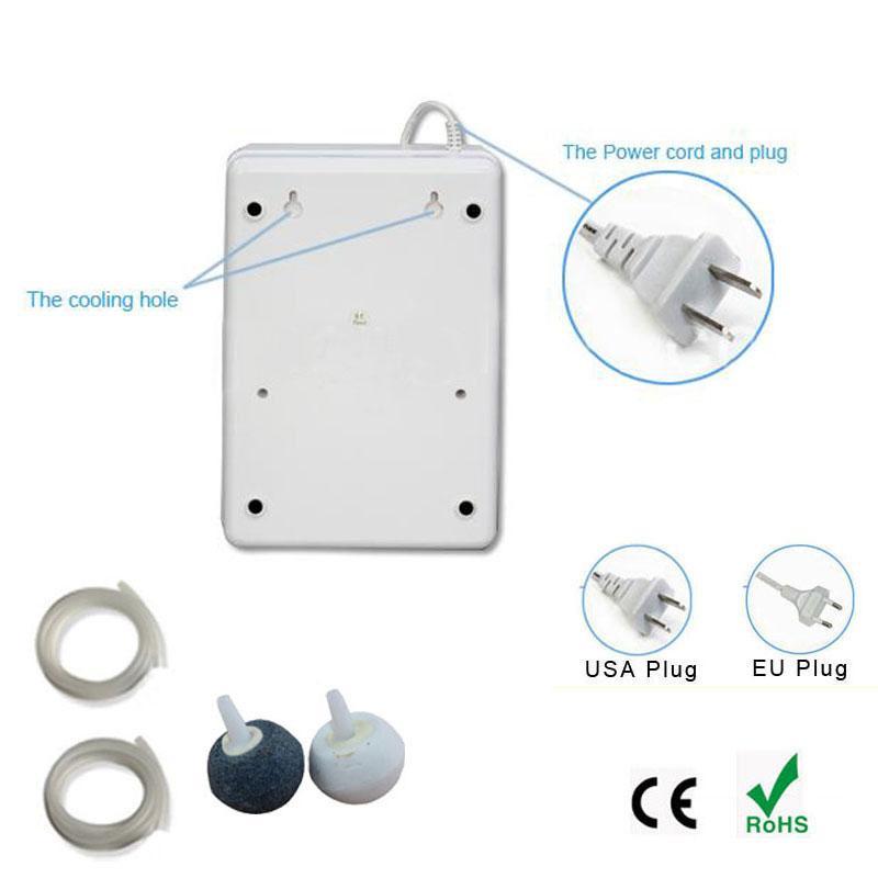 Gerador de ozônio ar purificador de água purificação gerador de ozônio ozonizador 110v 220v esterilizador de alimentos tratamento de água