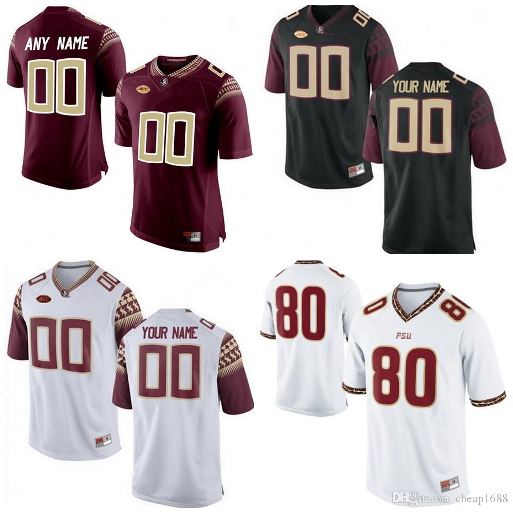 official photos 6b074 d423f Custom Florida State Seminoles College Football Limited white red black 8  Jalen Ramsey Stitched Any Name Number NCAA FSU Jerseys S-3XL