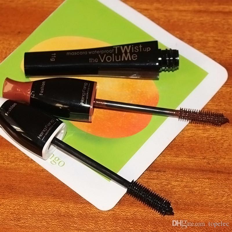 Водонепроницаемый цвет тушь долговечностью красочные ресницы макияж тушь 80 шт бесплатно DHL 6853