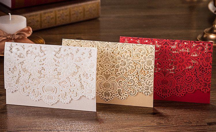 Wholesale Wedding Invitation Card Folding Korean Wedding Card – Folding Invitation Cards