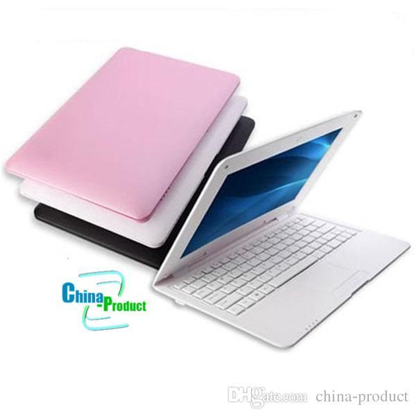 10.1 pulgadas Windows 10 Win10 Laptop Tablet PC con teclado Intel Baytrail-T Quad Core Bluetooth Wifi HDMI 1GB DDR3 16GB Webcam 010250