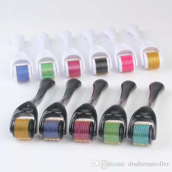 DHL free DHL shipping 540 pins titanium alloy derma products DRS derma roller made in China
