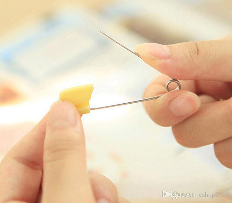 Broche de sécurité pour bébé en gros / Broche de sécurité pour bébé Child Safe Cloth Nappy Couche Couche Broche Verrouillage coloré livraison gratuite