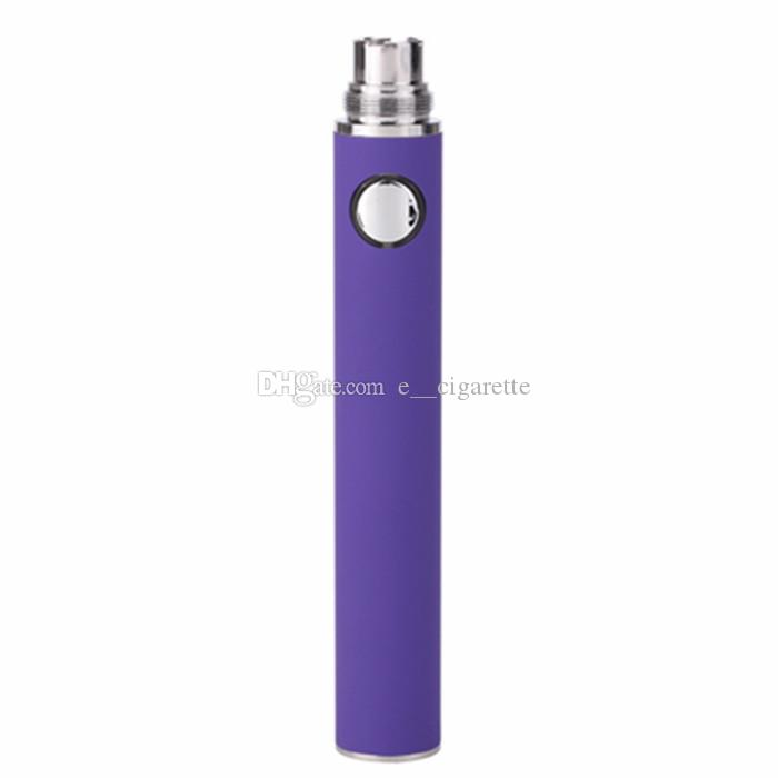 eGo E Cigarette EVOD Batteria 650mah 900mah 1100mAh EVOD Batteria MT3 CE4 CE5 CE6 Elettronica Sigaretta E cig Kit Batteria colorata Instock