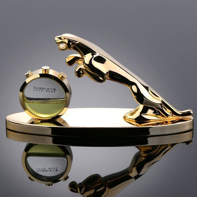 Luxury Car Seat Perfume Car Perfume Golden Leopard Fashion ...