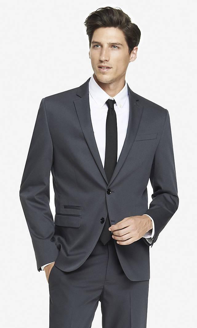 2015 Clasic Handsome Black Tuxedos Wedding Suits Groom Best Man