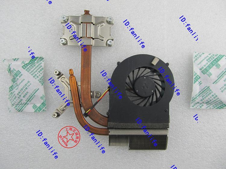 refrigerador 634454-001 638309-001 para HP DV6 DV7 DV7-4000 DV6-3000 DV6-4000 DV7-5000 disipador de calor de refrigeración con ventilador radiador