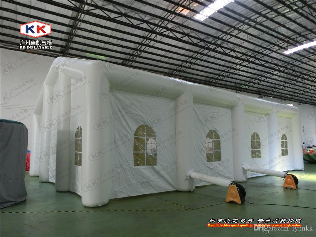 See larger image & 2018 Cheap Grass Giant Inflatable Tent Inflatable Air Wedding ...