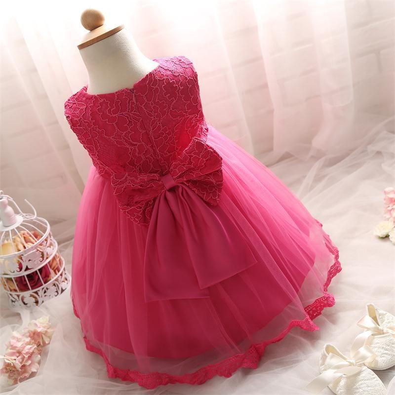 Wholesale- Newborn Baby Girl Wedding Dress 2017 Summer Lace ...